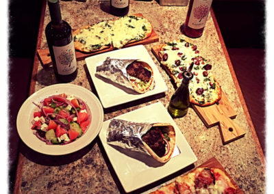 ilovespartans-gallery-dining-table-with-gyros-pizza-flatbread